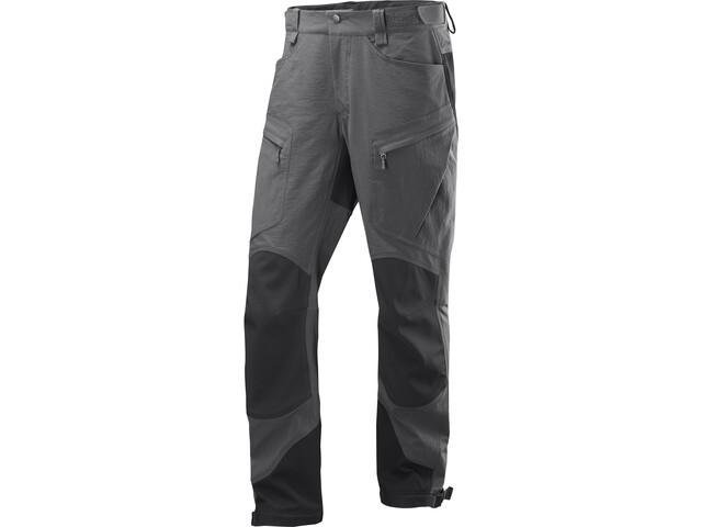 Haglöfs Rugged Mountain Pantaloni Normale Uomo, grigio/nero